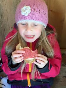 En brødblings er heller ikke å forakte - sier Leah